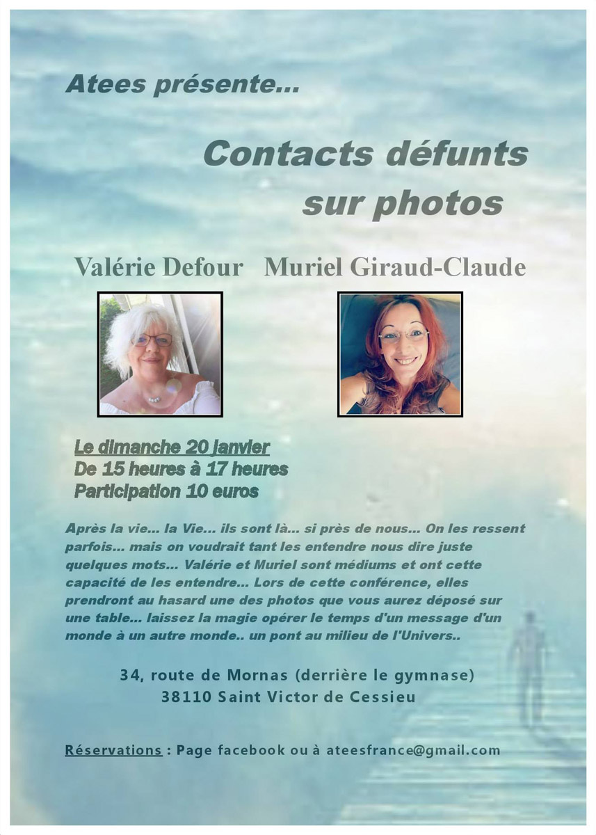 valerie defour conference contact defunt isere